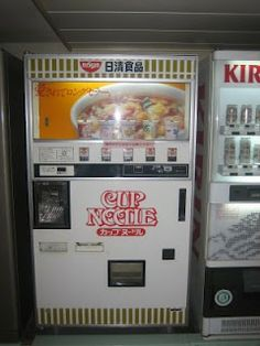 would need some crazy Japanese vending machines