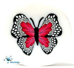 https://flic.kr/p/83RU5i   Red gray butterfly cane