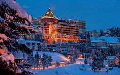 Over a century since its establishment, the seasonal landmark luxury hotel, overlooking Lake Saint Moritz and the surrounding Swiss Alps, known as Badrutt's Palace proudly announced the launch of Switzerland Hotels, Switzerland Vacation, Visit Switzerland, Hotels And Resorts, Best Hotels, Luxury Hotels, Alpine Hotel, Places Around The World, Around The Worlds