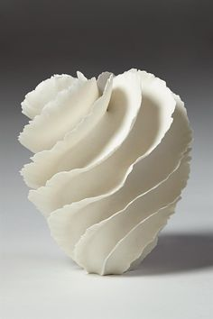 Sandra Davolio, Denmark, 2014 | white vase sculpture ceramics