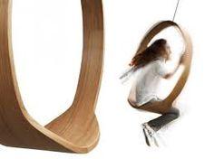 Image result for houten schommel in huis