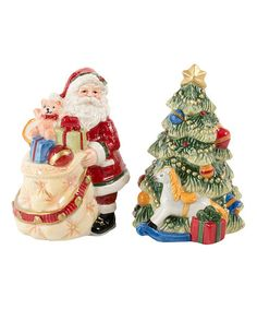 This Night Before Christmas Salt and Pepper Shakers is perfect! #zulilyfinds