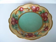 Currants 9 French Country Bowl by Limoges c 1910 by LaCheriMaison, $68.00