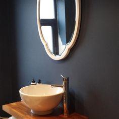 Bathroom in Stiffkey Blue