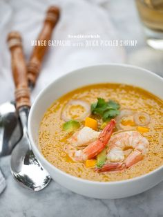 Mango Gazpacho   Community Post: 13 Gazpacho Recipes For Your Mother's Day Brunch