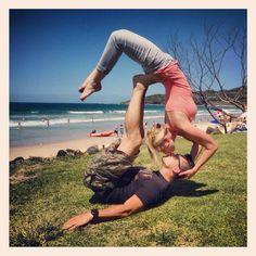 Jeana and Jesse at Byron Beach Australia.