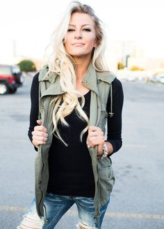 Army vest for every season
