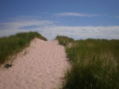 To the beach - Souris, Prince Edward Island, Canada. Visited here in June 2013, and dream of my return.