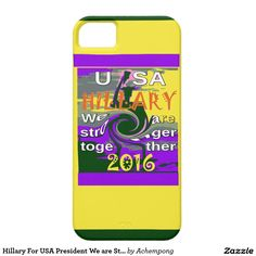 Hillary For USA President We are Stronger Together #Stronger #together #USA #Hillary #4 #President #American #Peace #Hope #Love #StrongerTogether #Electronics & #Gadgets