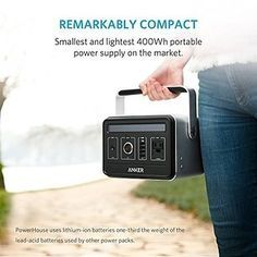 A portable generator. | 29 Insanely Clever Products That Will Make You Want To Go Camping