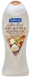 Softsoap Ultra Rich Shea Butter And Almond Oil Moisturizing Body Wash, 15 Fluid