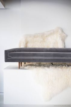 Adrian Pearsall Cloud Sofa for Craft Associates Inc. | From a unique collection of antique and modern sofas at https://www.1stdibs.com/furniture/seating/sofas/
