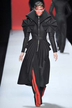 Not sure I like this. I just want to know if this is what fashionable Sith are wearing this season.