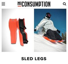 Sled Legs has been featured on @hiconsumption. We are excited to be featured on such a great site. Visit sledlegs.com (link in profile) to order your own pair during our Mid-Winter sale! Thanks for the awesome shout out @hiconsumption. .  .  #winter #sledding #snow #snowboarding #fun #findahill #outdoors #michigan #wintersports