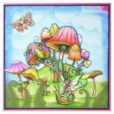 Signup today for a free trial. Lavinia Stamps, Art Impressions, Ink Stamps, Stamp Making, Heartfelt Creations, Hand Illustration, Clear Stamps, Fungi, Cardmaking
