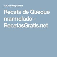 Receta de Queque marmolado - RecetasGratis.net