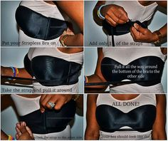 Secure Your Strapless Bra