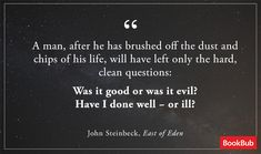 7 Amazingly Honest John Steinbeck Quotes