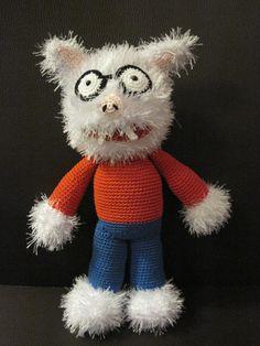 Dolfje Weerwolfje crochet amigurumi