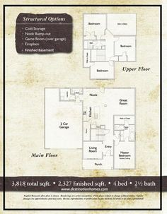 The floor plan to my current dream home.