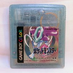 Pokemon Crystal for Game Boy Color in Japanese