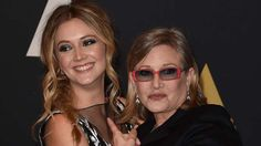 It can be hard to follow in the footsteps of successful parents, but 24-year-old Billie Lourd has been doing it with aplomb. The actress is the daughter of the late Carrie Fisher, and as she's joked to many a late night and morning host, she's also the progeny of another movie icon.