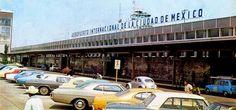 El Aeropuerto de la Ciudad de México a principios de los años 70