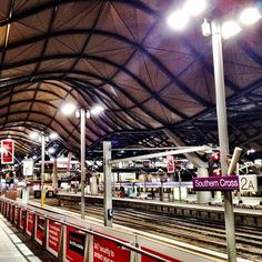 Southern Cross Station in Melbourne, VIC