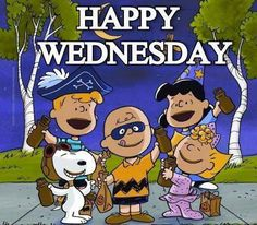 Happy Wednesday Charlie Brown Cartoon, Charlie Brown Quotes, Snoopy Cartoon, Short Friendship Quotes, Peanuts Halloween, Halloween Fun, Happy Wednesday Pictures, Bff, Winnie The Poo