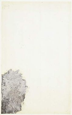 CY TWOMBLY. LEDA AND THE SWAN (PART I), 1980. / ACRYLIC AND OIL ON PAPER, 47 3/4 X 29 1/2 IN., 121.4 X 75 CM.