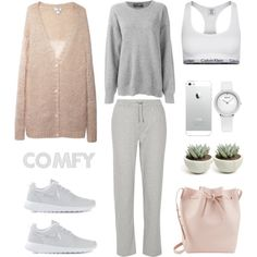 Comfy by fashionlandscape on Polyvore featuring Mode, Acne Studios, Dolce&Gabbana, T By Alexander Wang, Calvin Klein Underwear, NIKE and Mansur Gavriel