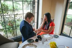 Dylan Proposes With a Brian Gavin Diamond Engagement Ring.