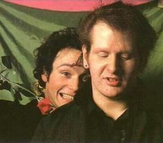 Adam Ant and Marco Pirroni