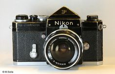 Nikon F used in Vietnam War | Very old, rugged camera that probably saw terrible things.
