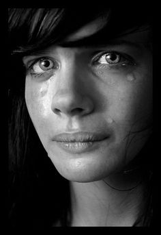 There is a sacredness in tears. They are not the mark of weakness, but of power. They speak more eloquently than ten thousand tongues. They are messengers of overwhelming grief and unspeakable love. Tears Of Sadness, Tears In Eyes, Sad Eyes, Tears Of Joy, Crying Eyes, Emotion, Face Expressions, Portraits, Beautiful Eyes