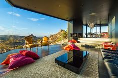 """""""Located across from the Joshua Tree National Park in California, USA, the Black Desert House..."""" Amazing. Incredible. Wow. Not my style, but this is a beautifully designed house...makes me happy just to look at the photos."""