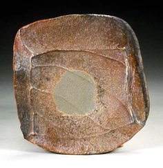 woodfired stoneware plate 18cm., Rich Conti New York