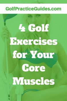 The most important muscles in the golf swing is your core area. Learn 4 amazing golf exercises to build your core muscles and improve golf fitness. >>> Read more info by clicking the link on the image. Golf Swing Training Aids, Golf Exercises, Men Workouts, Stretching Exercises, Fitness Exercises, Workout Routines, Workout Ideas, Stretches, Golf Instruction