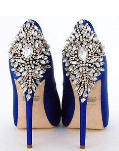 Perfect Details - Badgley Mischka Kiara Sapphire Shoes Badgley Mischka Kiara Sapphire Shoes - Shoes