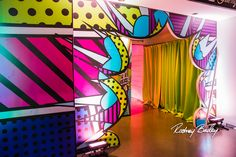 Entrance   Pop Art Party   Sweet Sixteen   Birthday Party   Colorful   Steel Stacks   Pennsylvania   Rodney Bailey Photojournalism   Magnolia Bluebird design & events   Washington D.C.