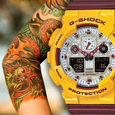 #tattoos #gshock