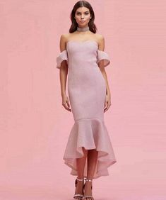 0ee1566f6969 Short Party Dresses Long Sleeves Pink Bridesmaid Dresses, Wedding  Bridesmaids, Homecoming Dresses, Party