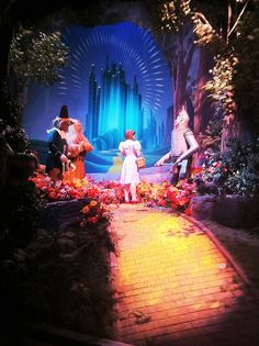 Wizard of Oz.  We, I believe, are all on a journey down our very own yellow brick road.