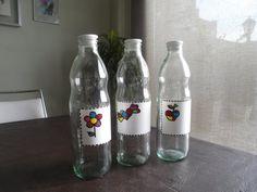 Encontrá Botellas de vidrio personalizadas desde $50. Cocina, Decoración y más objetos únicos recuperados en MercadoLimbo.com. http://www.mercadolimbo.com/producto/551/botellas-de-vidrio-personalizadas