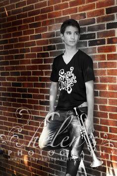 www.helensphotography.com/ Guyer High School/ Argyle/ band portrait/ trumpet/ photographer/ Flower Mound/ Highland Village/ Guyer Wildcats/