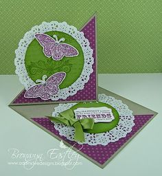 A twisted easel card tutorial