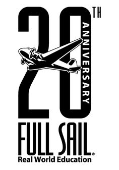 Used in 1999, this logo commemorated Full Sail's 20th Anniversary...a long way from the earlier Van Halen-esque design and flying pirate ship.