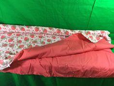 Vintage Strawberry Shortcake Handmade Hand Tied Quilt Collectible   eBay