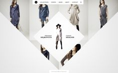 Véronique Miljkovitch website design proposal by Hendrick Rolandez