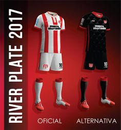 Camisas do River Plate do Uruguai 2017 MGR Sports